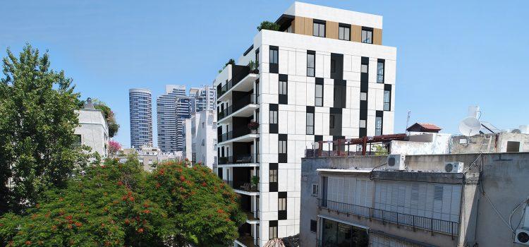 פרויקט קליי 18 החדש בתל אביב: 10,000 ש״ח מתנה שכירות בחודש עד האכלוס