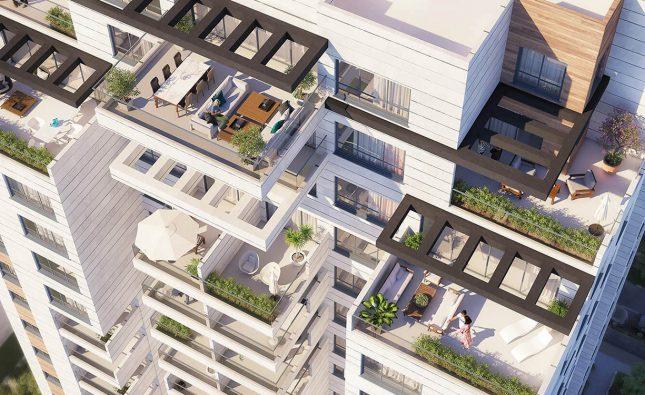 פרויקט RECANATI RESIDENCE של חברת אשדר בתל אביב צובר תאוצה