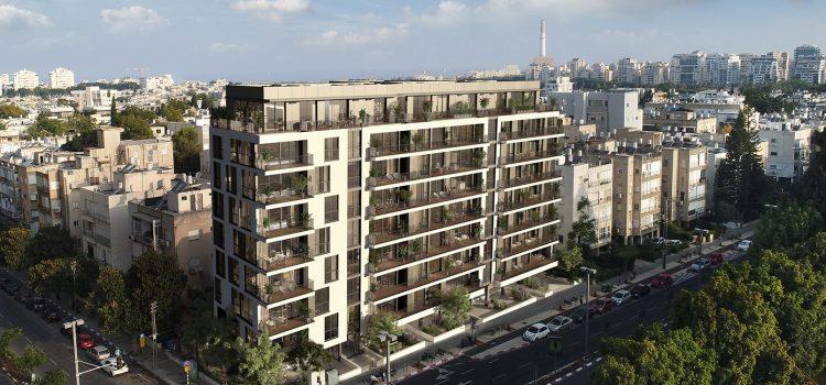 פרויקט ויצמן-פנקס של צמח המרמן ורוזיו בצפון הקלאסי של תל אביב