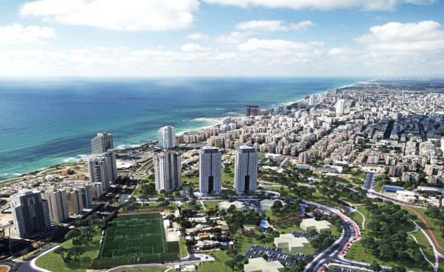 החלה מכירת הדירות בשכונת מגדלים חדשה מול הים בנתניה