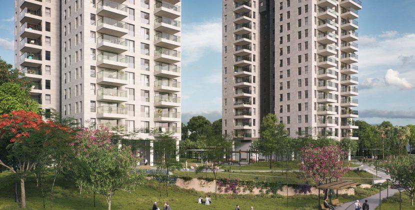 """אלקטרה מגורים תבנה 495 יחידות דיור בכפר אז""""ר"""